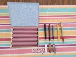 2 Vintage Fountain Pens and 2 Vintage Mechanical Pencils.