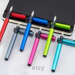 6-Color FULL Set Pilot Explorer FP-EX1-M Medium Point Fountain Pens Assorted