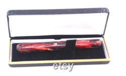 Bespoke Fountain Pen with 6 Bock Nib, Handcrafted Diamondcast Pen, Custom Made Fountain Pen
