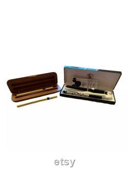 Colibri Mickey Mouse Fountain Pen Black Lacquer Gold Executive Collection Pen