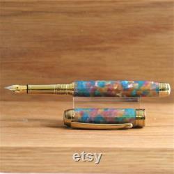 Conway Stewart Heather Fountain Pen