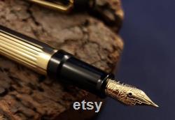 Cross Metropolis Fountain Pen Rare 18k Gold Fine Nib Used