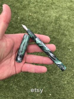 Custom Order for W. Wyatt The Imperial Fountain Pen in Emerald City