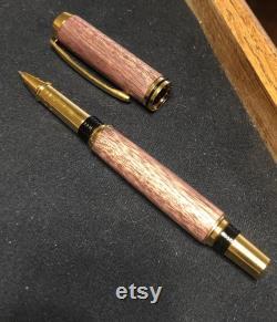 Custom Purple Heart Jr. Gentlemen Rollerball pen