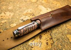 Fossil custom Fountain Pen , Fountain Pen , Handcrafted Pen , mineral , stone, metaphysical mineral, MADE TO ORDER
