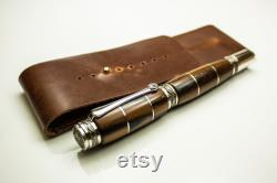 Fossil custom Roller Pen , Rollerball Pen , Handcrafted Pen , mineral , stone, metaphysical mineral