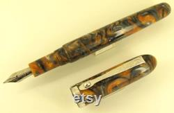 Halloween Kit-less pure hand-made fountain pen, Resin material made in USA, come with German BOCK F 0.5mm NIB
