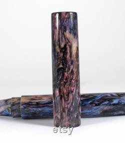 Homerton Marble Abalone Fountain pen