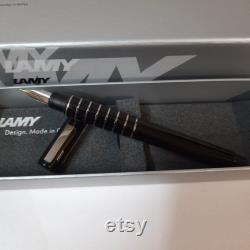 Lamy accent brilliant diamond Lacquer Fountain pen 14kt fine nib