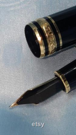 MONT BLANC Fountain Pen c1980s 1st generation Edition