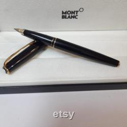 Montblanc Gold Trim Fountain Pen Generation 14kt Gold Nib