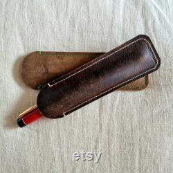 N6C Nikko Ebonite Black Handmade Fountain Pen