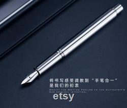 New EDC Tool Titanium Fountain Pen Personal Writing Stationery