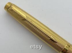 Parker 75 Barley gold filled casing