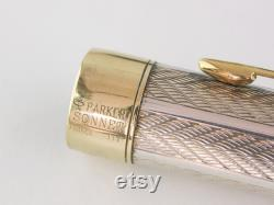 Parker Sonnet Fougere Fountain Pen Sterling Silver 18K Gold Plated Nib