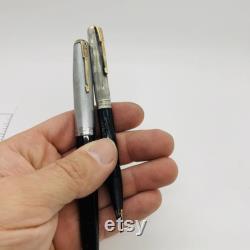 Parker sterling pen and pencil, sterling Parker fountain pen, sterling pencil, 925 pen set, silver Parker pens, vintage Parker, gift for dad