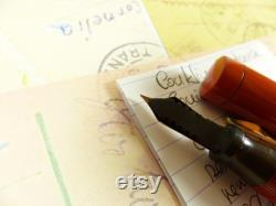 Red Conklin Endura Senior Fountain Pen restored