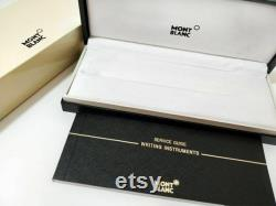 Refurbished Montblanc Meisterstuck Solitaire Gold and Black Fountain Pen 35982