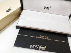 Refurbished Montblanc Meisterstuck Solitaire Platinum-Plated Facet Fountain Ink Pen 38248