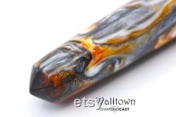 Rocky Top DiamondCast, Catsburg Fountain Pen, Handmade, Jowo