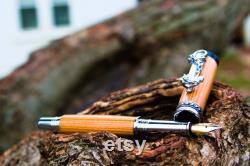 Voyager Fountain Pen from Battleship USS Iowa
