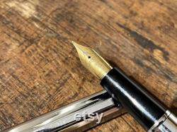Waterman vintage fountain pen rare 18kt gold 750 nib
